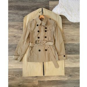 NWT Burberry Balmoral Cropped Trench Coat